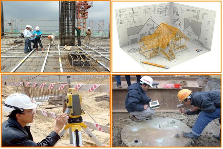 Chương trình đào tạo Chuyên ngành Công nghệ kỹ thuật công trình xây dựng dân dụng và công nghiệp