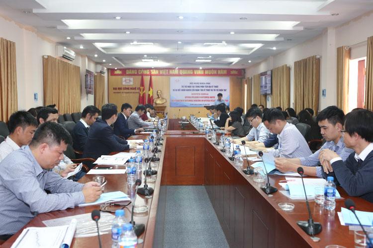 Hội nghị khoa học về Trí tuệ nhân tạo trong phân tích Địa kỹ thuật và ra mắt nhóm nghiên cứu mạnh Địa kỹ thuật và Trí tuệ nhân tạo