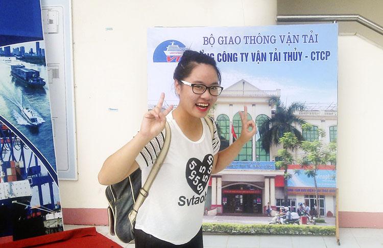 Sinh viên Phạm Huyền Mai